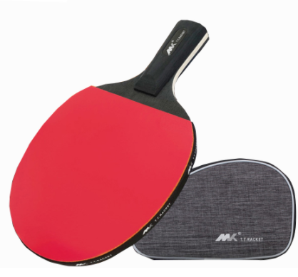 Racket of double-sided table tennis bones-in-the rubber racket Table tennis club with top-sack gift package recommended